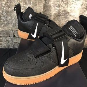 Nike Shoes | Air Force 1 Utility Men Shoe Sequoia Green